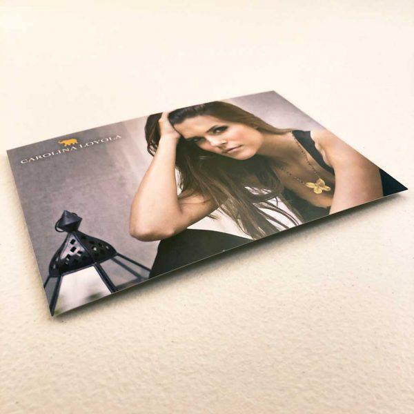 Fashion postcards printing